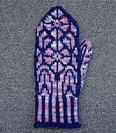 Ravelry: Northern Lights Mitten pattern by Anne Bosch