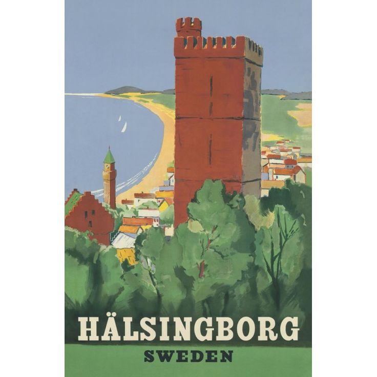 Helsingborg Kärnan / Vykort14