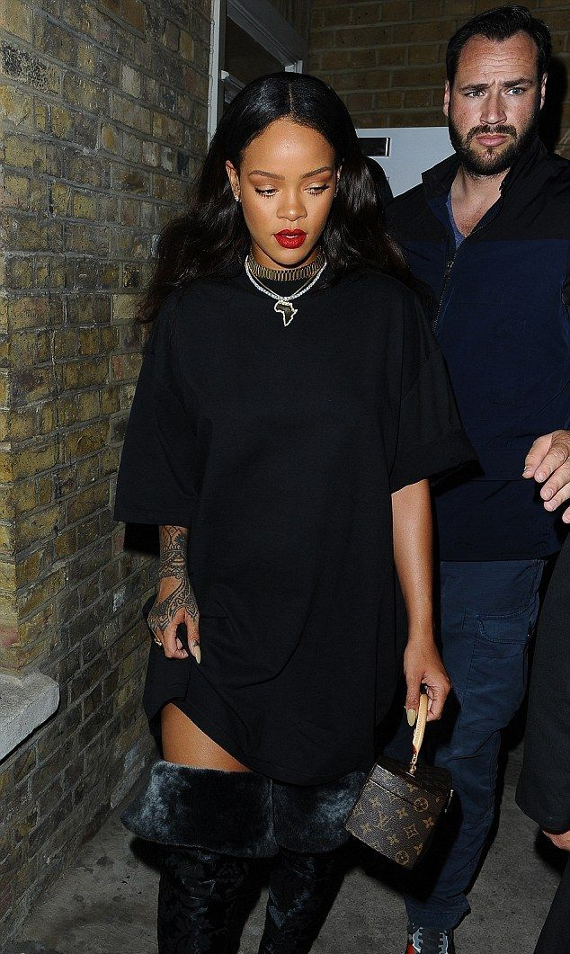 June 23 - Rihanna out and about in London