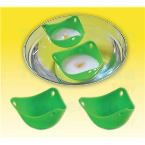 Silicone Egg Poachers   Twin Pack