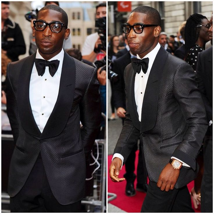 Tinie Tempah in Tom Ford
