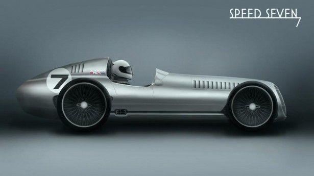 Cars - Kahn Design Speed 7 : le speedster au style vintage en approche ! - http://lesvoitures.fr/kahn-design-speed-7-la-barquette-au-style-vintage-en-approche/