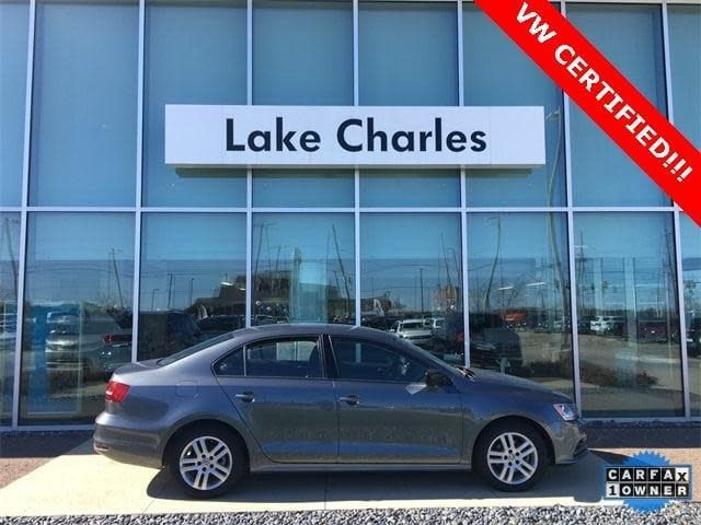 CPO 2015 Volkswagen Jetta 2.0L S for sale at Volkswagen of Lake Charles in Lake Charles, LA for $11,128. View now on Cars.com.