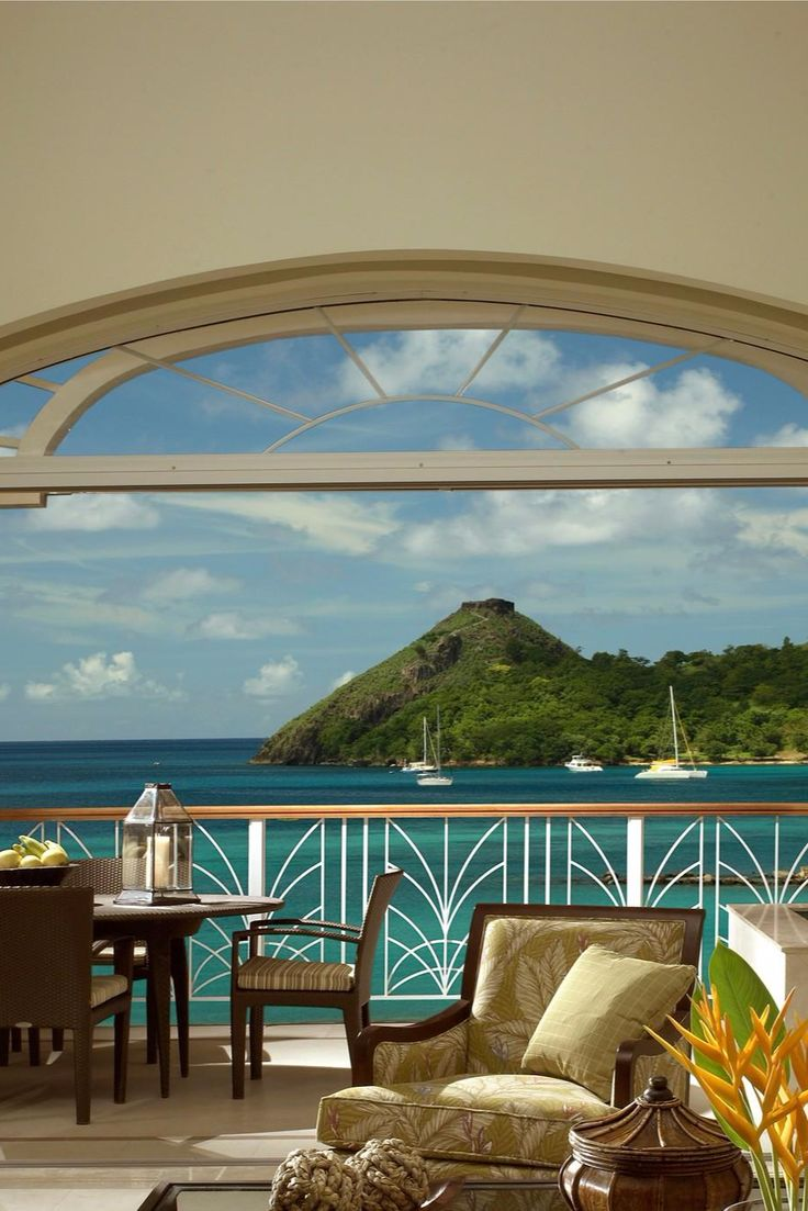 Villa Suites have gorgeous views of the harbor or beach. The Landings St. Lucia - All Suite Resort (Gros Islet, St. Lucia) - Jetsetter