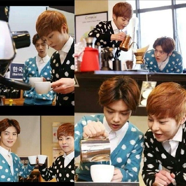 [New Pict] 140310 Naver Update With Luhan & Xiumin