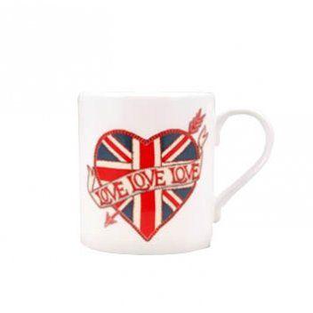 union jack tattoos | Home › Gifts › For Him › Union Jack Tattoo Mug