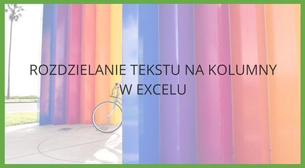 Program Excel umożliwia funkcję automatycznego rozdzielenia tekstu, przydatnego podczas kopiowania danych z obcego źródła.  Więcej informacji znajdziesz na: https://www.cognity.pl/rozdzielanie-tekstu-na-kolumny-excel,blog,317.html    #Excel, #kursexcel, #cognity, #rodzielanietekstu, #kopiowaniedanych
