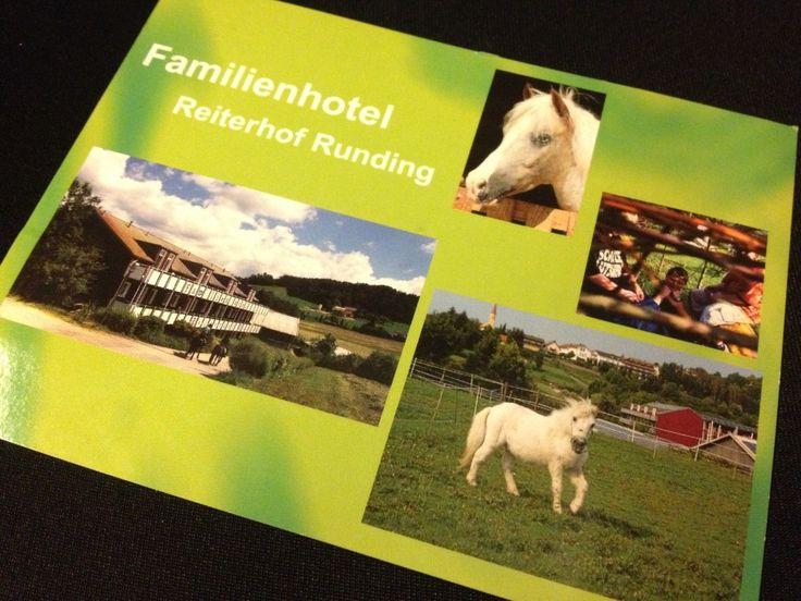 Postcard of the Week: Reiterhof Runding - Bayerischer Wald/Deutschland #pcotw