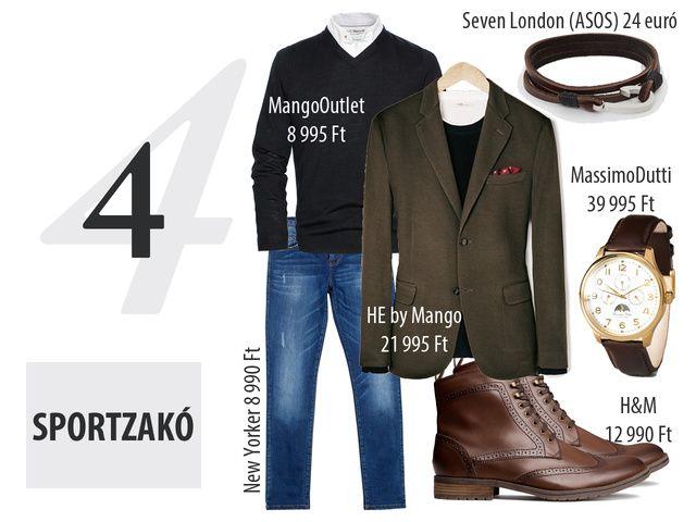 4 átmeneti kabát, 4 stílus