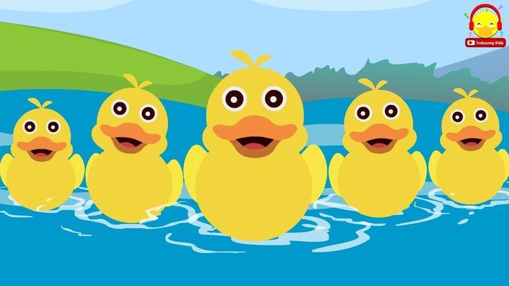 เพลงเป ด ล กเป ด 5 ต ว เป ดน อย 5 ต ว Five Little Ducks Song เพลงเด การ ต น เพลง ปลา