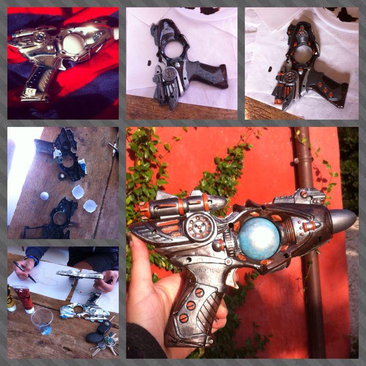 La mia pistola a vapore