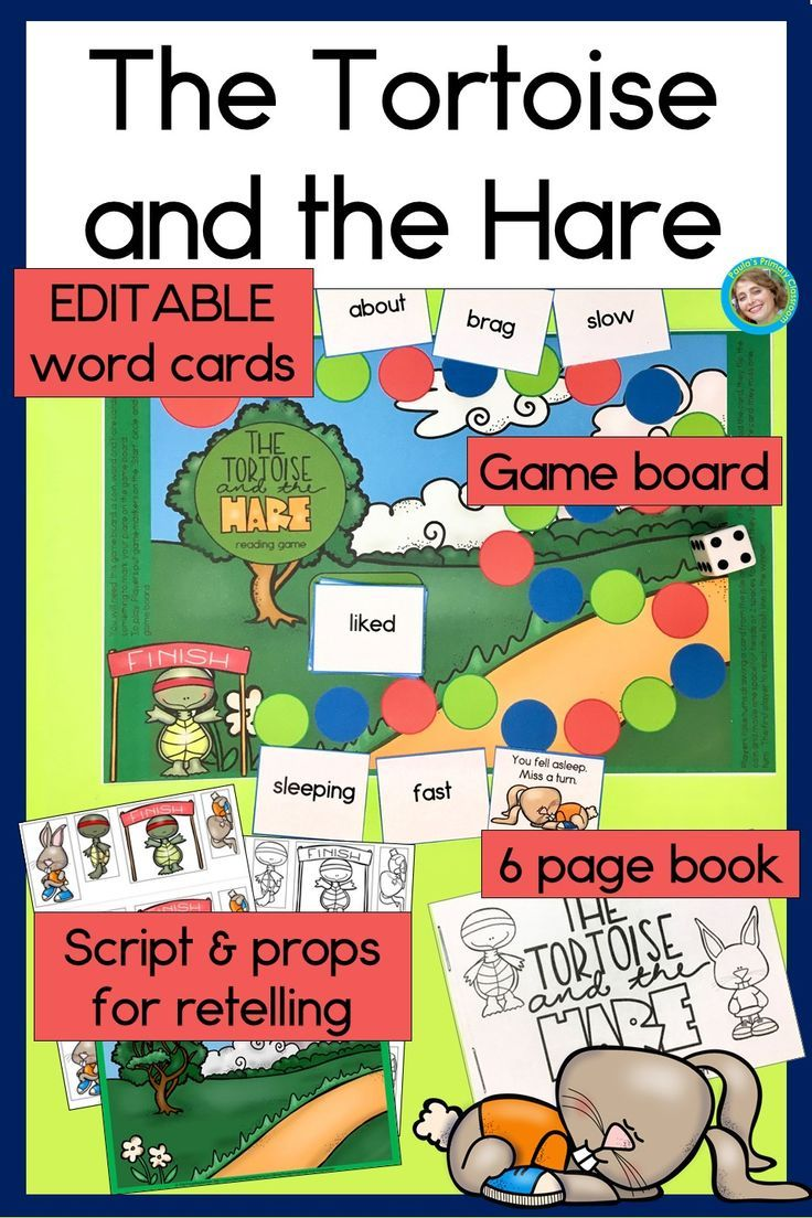 Your Students Will Love This Reproducible Student Book Story Retelling Kit Fun Reading Game For Aesop S Fable The Tort Reading Fun Fun Reading Games Fables [ 1104 x 736 Pixel ]