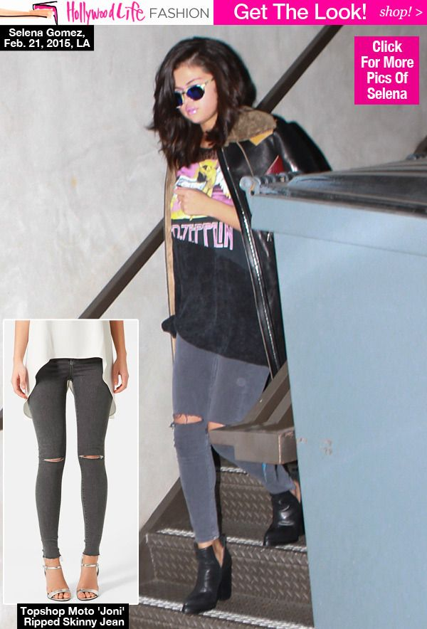 Selena Gomez's Ripped Jeans: Shop Her Edgy Look For $70