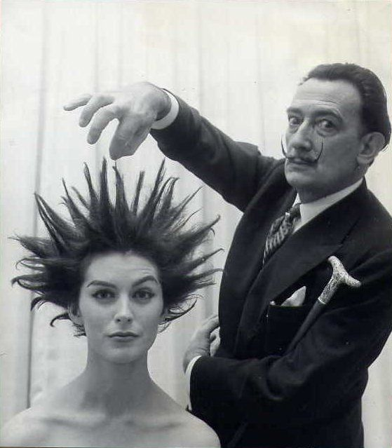 Dali. And his hairstyling talent