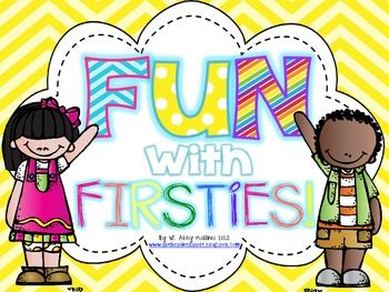 ***Best+Seller!+10+Back+to+school+activities!***Fun+with+Firsties+got+a+makeover+on+June+27,+2013.+If+you+already+own+this+product,+you+can+re-download+it+for+free!This+is+an+activity-filled+printable+to+use+to+kick+off+a+great+start+to+first+grade!Inside+you+will+find...-+Title+Page+{p.1}-+Note/Table+of+Contents+{p.2}-First+Grade+Survey+{p.3-4}-Jitter+Juice+poem+