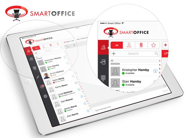 Redesigned Smart office by Sharan Surpur, via Behance