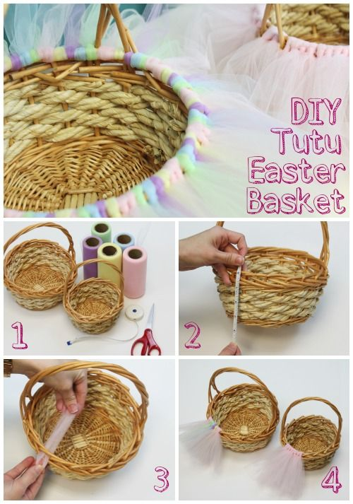 12 best easter basket ideas images on pinterest gift basket ideas tutu easter basket negle Image collections