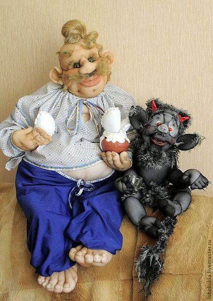 Пузатый Пацюк из произведения Н.В.Гоголя - пузатый пацюк,Гоголь,вечера на хуторе