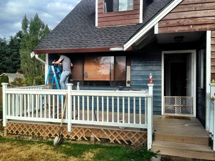 Adding A Porch Roof