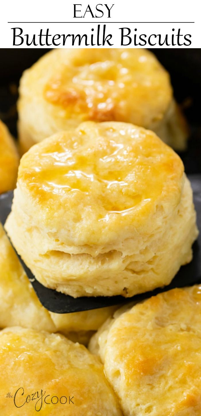 Easy Buttermilk Biscuits In 2020 Easy Biscuit Recipe Buttermilk Biscuits Recipe Biscuit Recipe