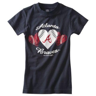 Girls' Atlanta Braves shirt