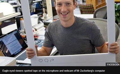Γιατί ο Μαρκ Ζάκερμπεργκ βάζει κολλητική ταινία στη webcam και το μικρόφωνο του υπολογιστή του
