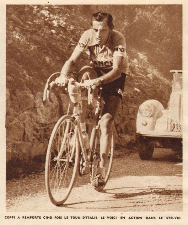 Giro d 39 italia 1953 20 tappa 1 giugno bolzano bormio for Le miroir des sports