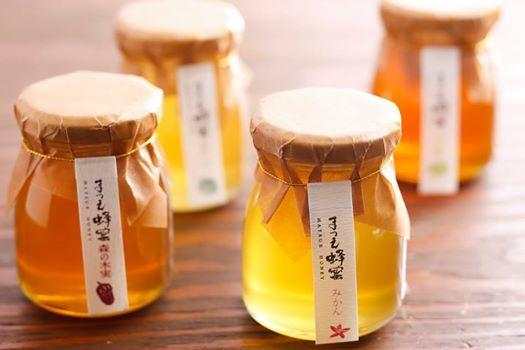松江のミツバチさんが集めたおいしい蜂蜜をどうぞ!種類もいっぱい!