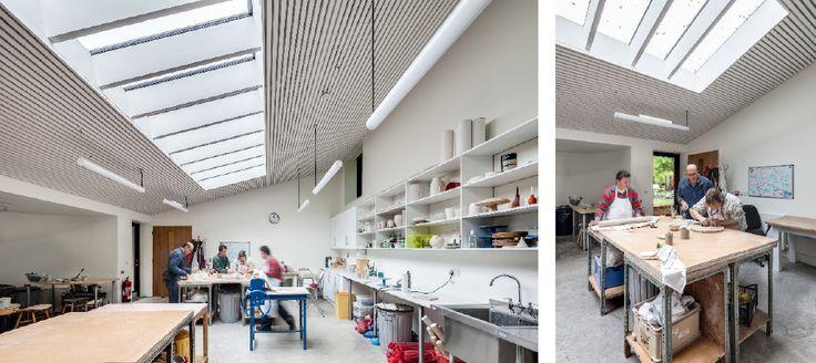 The Lantern Pottery Community Workshop, Hampshire | CaSA Architects