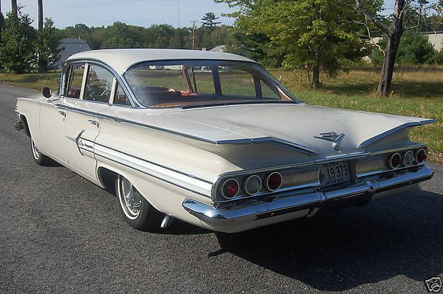 1960 Chevy 4door...we drove a 283 Biscayne not an Impala