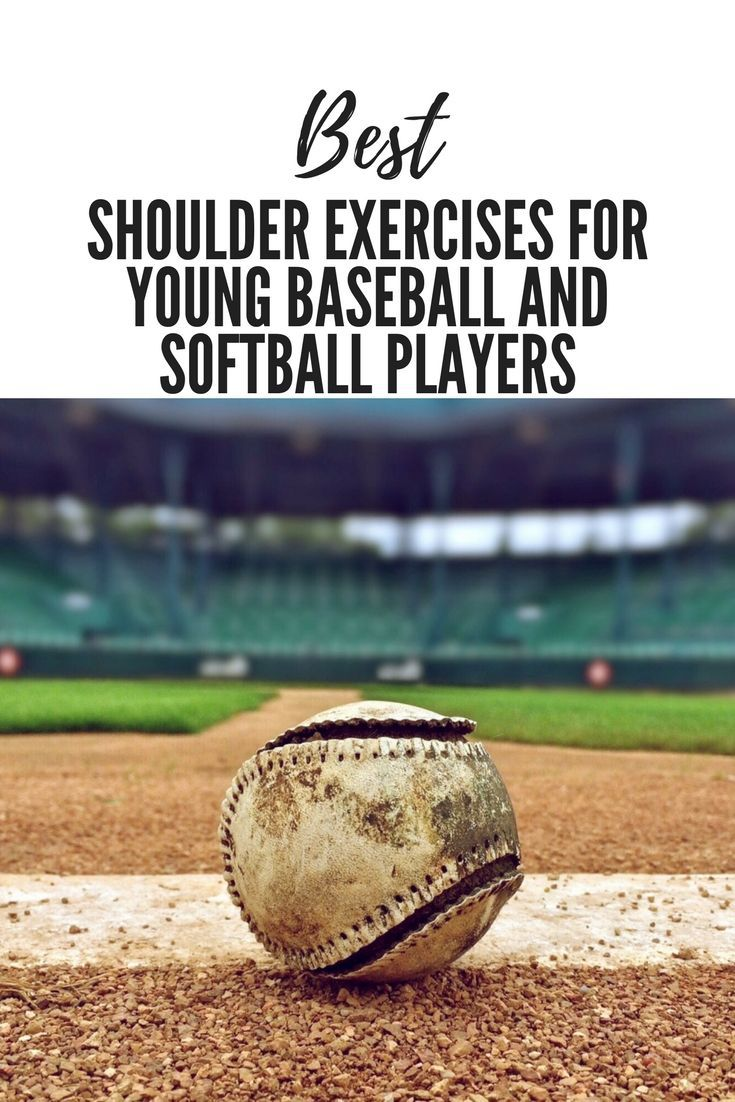 Best Shoulder Exercises For Young Softball Players Softball Workouts Basketball Workouts Baseball Workouts