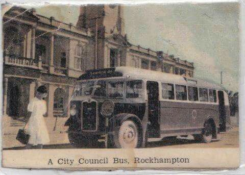 Rockhampton  city council bus