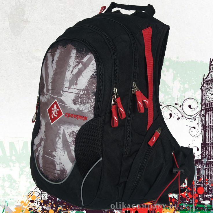 Рюкзак 29957-1 молодежный, размеры 30*18*44 см 2500 руб #сумки #рюкзак #учеба #школа