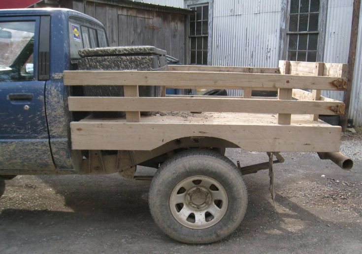 Images about wooden truck bed on pinterest ford