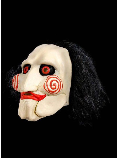 "https://11ter11ter.de/9058463.html Latexmaske ""Saw - Billy the Puppet"" für Erwachsene #Maske #Latex #Saw #billythepuppet #Puppe #Creepy #Halloween #Horror #Film #11ter11ter"