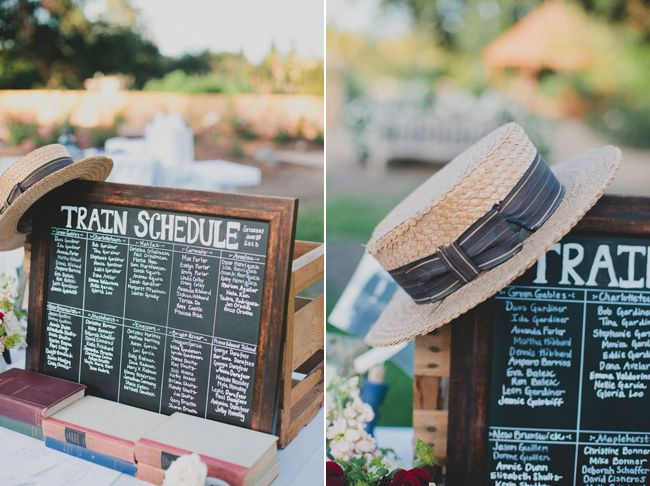 Real Wedding: Anne of Green Gable Themed