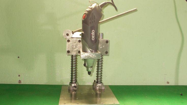 Homemade Mini Press Drill DIY PCB Hand Drilling Machine Machine Wood Lat...