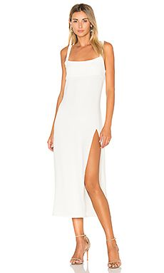 Shop for TROIS Crawford Midi Dress in White at REVOLVE. Free 2-3 day shipping and returns, 30 day price match guarantee.