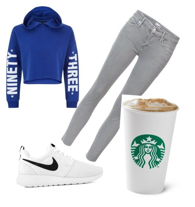 """""""Cba"""" by jessfry10 on Polyvore featuring New Look, Mother and NIKE"""