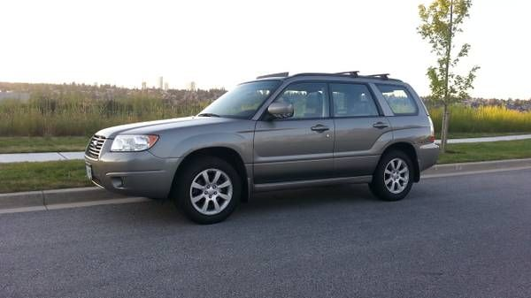 2006 Subaru Forester leather, no accident, like SUV CR-V, RAV4 for sale in Vancouver, British Columbia  http://cacarlist.com/subaru/2006-subaru-forester-leather-no-accident-like-suv-cr-v-rav4_11811-11720.html