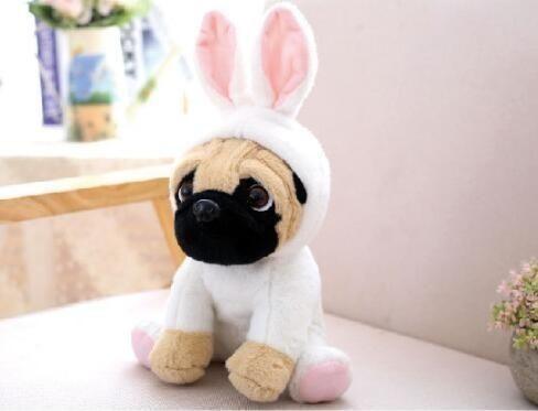 Plush Toy Pug Pet Toys Cute Plush Plush Animals