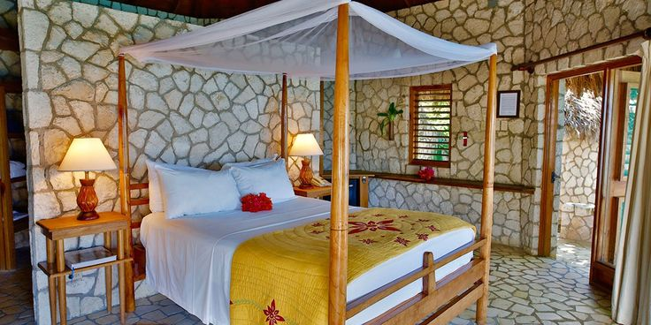 "Negril Eco Resort ""Rockhouse"", Caribbean. This Rockhouse Negril Eco Resort is a casually chic boutique hotel perched on the scenic cliffs of Negril's cove in Jamaica. The resort overlooks the deep blue waters that is the Caribbean Sea. #Negril #Jamaica"