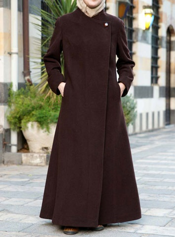 Tailored Wool Jilbab via www.ShukrClothing.com