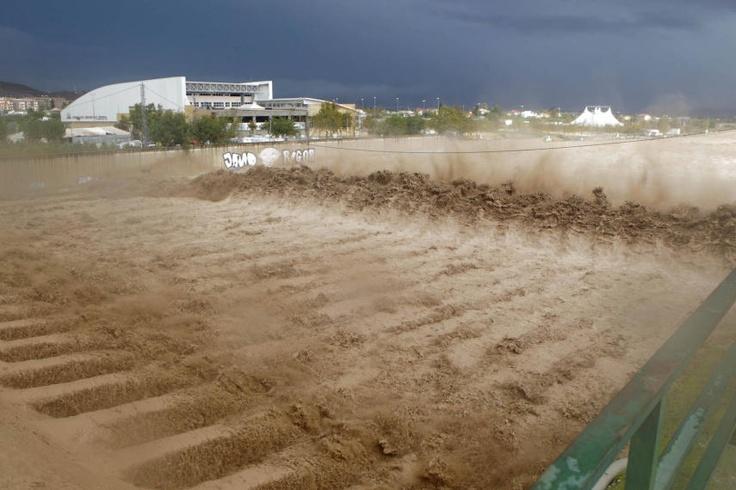 Consecuencias de las lluvias torrenciales en Lorca - LaVerdad.es. Foto 92 de 94