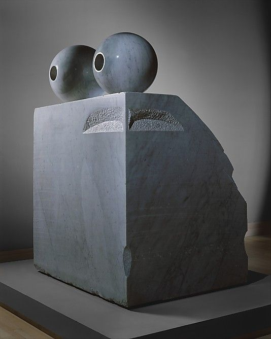 Eyes, 1982. Marble  Louise Bourgeois