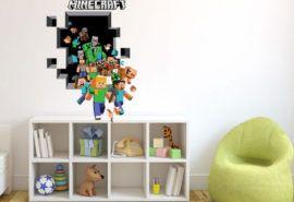 minecraft gänget på väggen