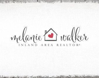 realtor logo design real estate agent logo by stylemesweetdesign                                                                                                                                                                                 More