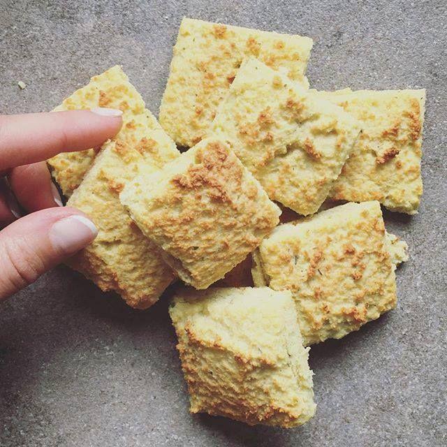 Sós fehérjedús pogácsa (gluténmentes)
