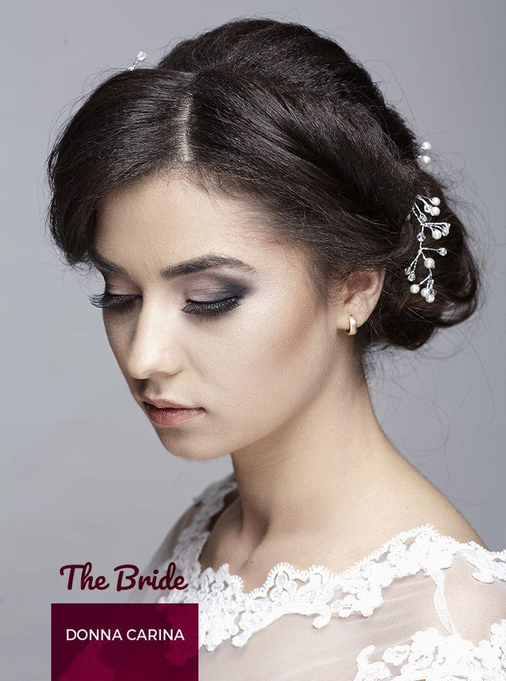 Coafura de mireasa si make-up Donna Carina!  Bridal hair-style and make-up.