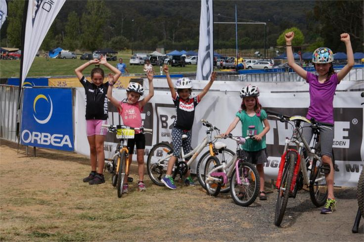 ByK Kids having fun at the Australian Thule 24hour Bright MTB Races